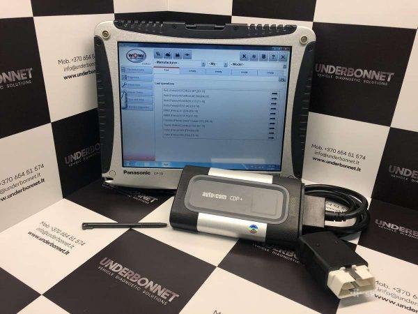 CDP+ Bluetooth 2017.R1 profesionali diagnostikos & programavimo įranga
