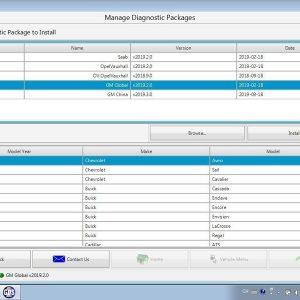 GM MDI (TECH3) Profesionali diagnostikos ir programavimo įranga